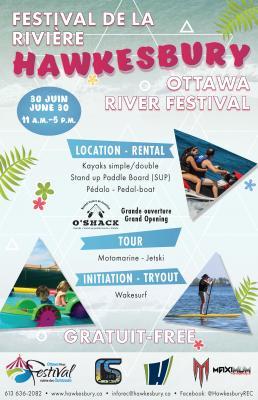 Festival de la Rivière des Outaouais à Hawkesbury